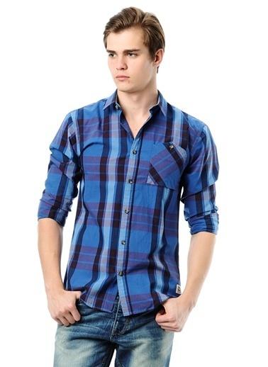 Jack & Jones Kareli Gömlek Mavi